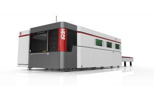 China Fiber Laser Plate Cutting Machine For Metals , High Power Stainless Steel Laser Cutting Machine on sale