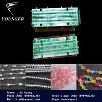 China プラスチック数珠のひもはビードの丸いボール巻上げ式ブラインドのカーテンのためのチェーン作成機械機械類に玉を付けました on sale