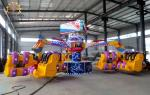Funny Flying Swing Ride , Fiberglass And Steel 24 Seats Energy Storm Ride