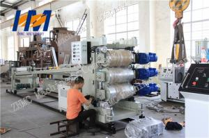 China Single screw ABS Sheet Extrusion Line 380V 50HZ 3 Phase 2300mm x 3000mm x 3000mm on sale