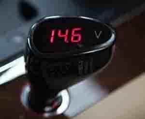 China 12VCarCigaretteLighterVoltmeter on sale
