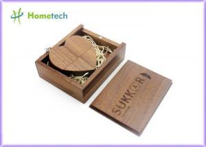 China Custom Heart-shaped Wooden USB Flash Drive 64gb 32gb / usb stick Flash drive on sale