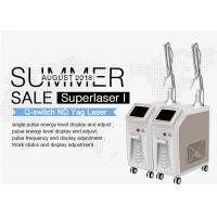 Vertical Q Switch Nd Yag Laser Machine For Tattoo / Pigmentation Removal