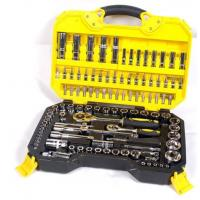 108 Piece Socket Wrench Set Emergency Tool Kit , Car Repairing Gand Tool Set for Home