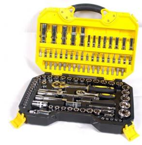China 108 Piece Socket Wrench Set Emergency Tool Kit , Car Repairing Gand Tool Set for Home on sale