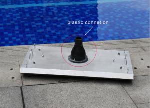 Stainless Steel Swimming Pool Accessories Vacuum Head ...