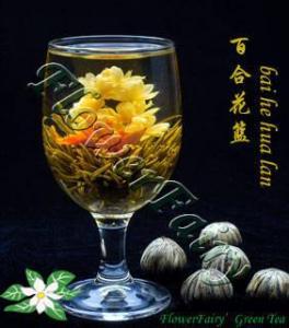 China Bai He Hua LAN Blooming Tea on sale