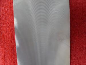 China Industrial Tungsten Plate 18.2 G/Cc Density Type ISO / RoHs Certificated on sale