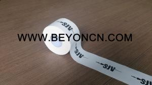 China Woven Cotton Fabric Adhesive Sports Tape Private Brand Logo Printed For OEM on sale