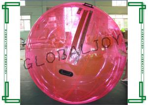 China Summer Red Inflatable Walking on Water Bubble Ball for Adults on sale