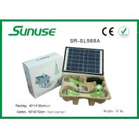 Long lifespan 12W solar panel Solar Home Lighting System with 3W*3pcs LED bulbs