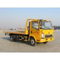 China Yellow Color Wrecker Tow Truck Wheelbase 3800 Mm 5085kg Curb Weight on sale
