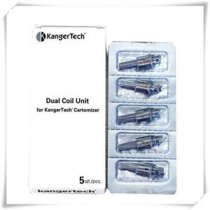 Quality Dual Coil Evod Electgronic Cigarette , 0.8ohm / 1.2ohm / 1.5ohm / 1.8ohm for sale