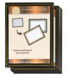 6 Packs 8.5x11 Certificate Document Frame , Paper / Plastic Award Certificate Frames