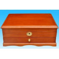 Solid wood jewelry box, luxury wooden packing box for gifts