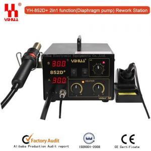 China YIHUA 852D+ (Diaphragm pump) Hot air rework station on sale