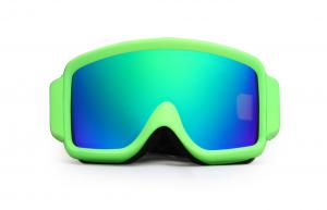 China CE FDA Approved Mirrored Ski Goggles with Scratch Resistant Lens on sale