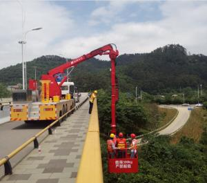 China Dongfeng Chassis National V 18m Bucket  Bridge Inspection Equipment on sale