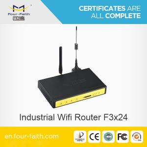 China F3824 LTE wifi hotspot Router with sim card slot & LAN port support TCP/IP & VPN for bus/vehicle wifi hotspot on sale