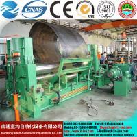 China La chaudière hydraulique de la commande numérique par ordinateur MCLW11STNC-120X3000 a consacré le laminoir universel de plat de rouleau on sale