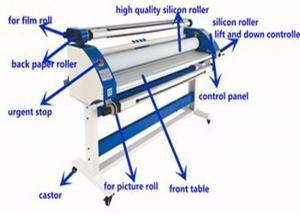 China High Precision Vinyl Cold Lamination Machine , electric cold laminator Automatic Feed on sale