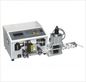 China Flat Ribbon Wire Cutting And Stripping Machine Automated Wire Cutter 12 Pin on sale