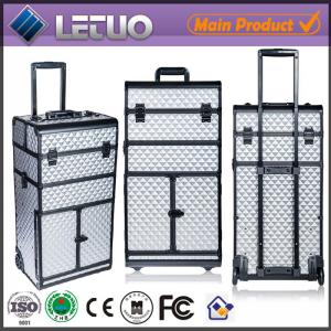 China LT-MCT0031 China new bag aluminum beauty cosmetic makeup case makeup case with drawers on sale