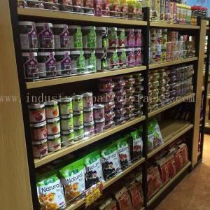 China Light Duty Gondola Shelves Supermarket Racking Island / End Units 5 Levels Each on sale