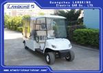 24km/H 2 Passenger Golf Cart , Enclosed Cargo Box Golf Cart 15% Climbing Ability