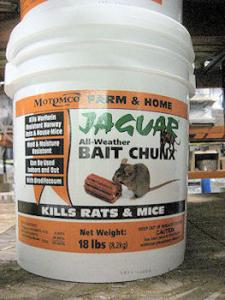 China Mouse killer 0.005% Brodifacoum Bait-wheat on sale