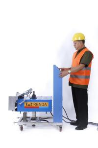 China Factory supply lightest 70 KGS Best Price Wall automatic plastering machine on sale