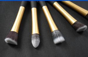 China Eyeshadow Blender Cosmetic Brush Sets Powder Bronzer Tapered on sale