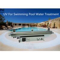 Water Treatment Swimming Pool Ozone Generator UV Sterilizer 3 - 30 Ton / H Water flow rate
