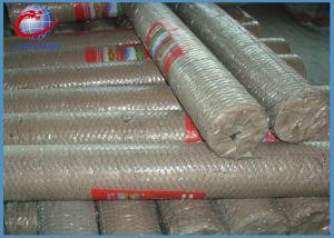 China Eco Friendly Hexagonal Wire Mesh Chicken Wire Panels For Gabions / Garden Decoration supplier