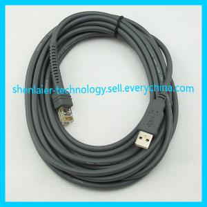 China Gray 3M USB RJ45 Cable for Scanner on sale