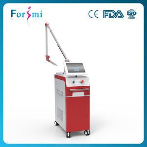 China Big spot size q switch nd yag laser machine with best tattoo removal technology on sale