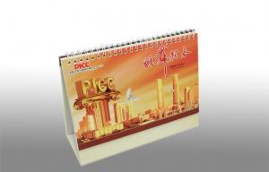 China Cardboard CMYK Personalized Custom Photo Calendar Printing Offset for Desk Decration on sale