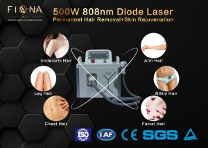 China Continuous Mode Permanent Hair Removal Machine , Portable 808 Laser Hair Removal Device on sale