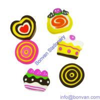 injected food eraser,kids toy eraser, promotional children eraser