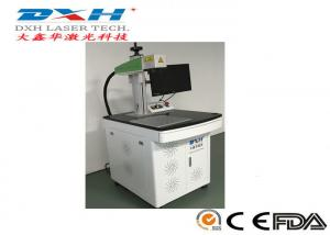 China Industrial Laser Marking Equipment , Aluminum Laser Engraving Machine For License Plate on sale