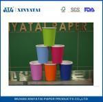 Las tazas de papel/aduana de la bebida caliente de un sólo recinto disponible imprimieron las tazas de café de papel 7.5oz
