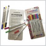 Regular nib Fabric paints water based 20 colors permanent textile marker pens