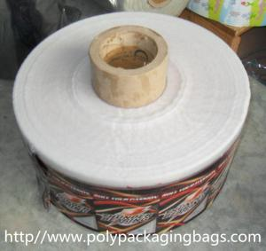 China Moisture Proof Biscuit / Sugar Printed Plastic Film Rolls Laminated Food Packaging on sale