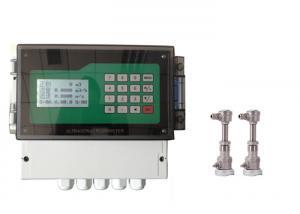 China Intelligent Transit Time Ultrasonic Flow Meter Contact Type Sensor on sale