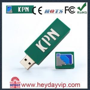 China OEM PVC custom usb memory sticks 8GB for gift china supplier on sale