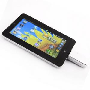 China resistive touch screen Android tablet pc with Wifi,3g network optional and flash player 10.1 on sale
