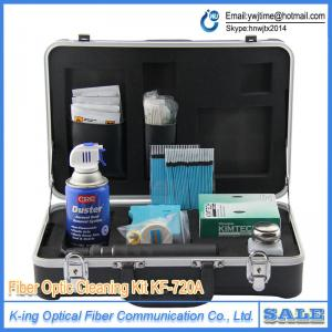 China Fiber Optic Cleaning Kit KF-720A USA fiber cleaning pen OAM cleaner Cotton swab cleaning tool kit BY DHL on sale