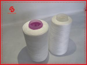 China Colorful Top Dyed Polyester Yarn / Spun Polyester Sewing Thread Eco - Friendly on sale