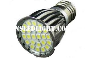 China Pure Aluminum MR16 Led Spot Lighting GU10 24pcs SMD5050 4.8W 120degree Beam angle CE RoHS China Manufacturer on sale