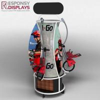 Floor Wood and Metal Children Bicycle Display Stand
